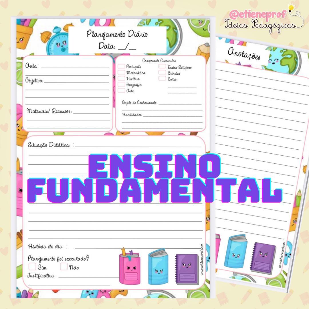 FICHA DE PLANO ENSINO FUNDAMENTAL